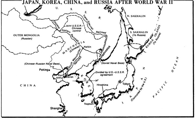 Poli 142j reading schedule the far east after world war ii 1946 gumiabroncs Image collections